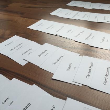 Schritt 2: Karten sortieren